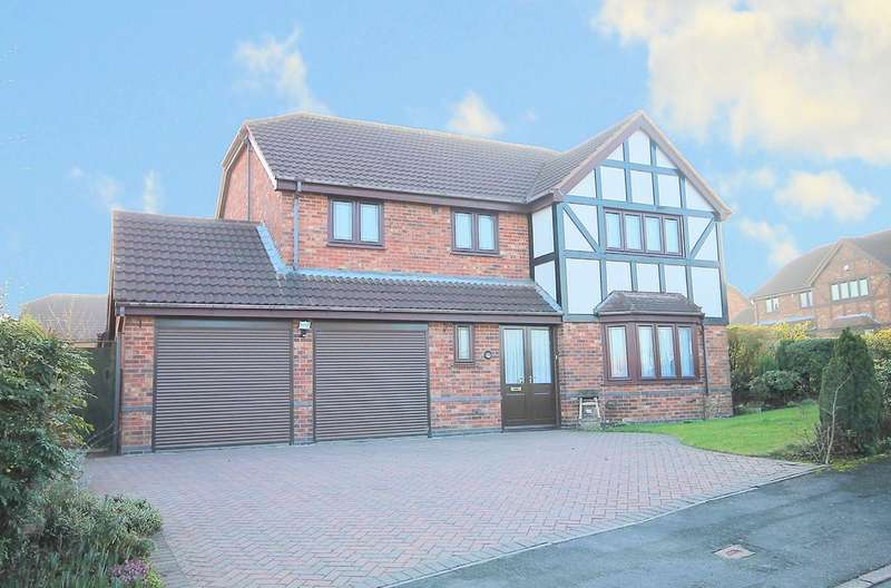 5 Bedrooms Detached House for sale in Shannon, Tamworth, B77 2NZ